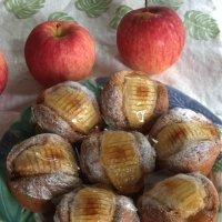 りんごのマフィン