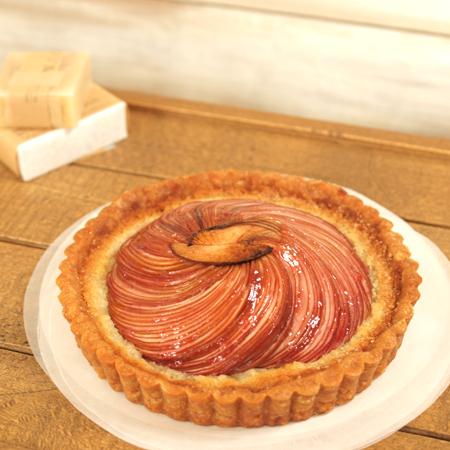 画像2: りんごのタルト